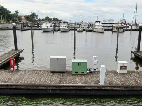 Clear Nanobubble generator at Pahokee Marina