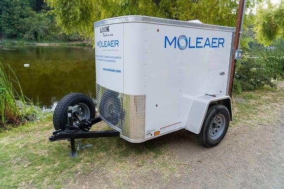 Moleaer trailer